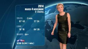 Evelyne Dhéliat à la Météo de 20h - 03/11/14 - 02