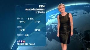 Evelyne Dhéliat à la Météo de 20h - 03/11/14 - 04