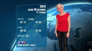 Evelyne Dhéliat à la Météo de 20h - 15/10/14 - 02