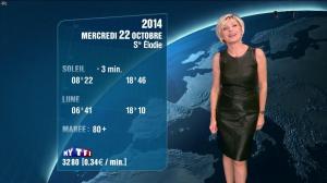 Evelyne Dhéliat à la Météo de 20h - 21/10/14 - 04