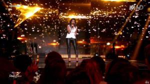 Faustine Bollaert dans Rising Star - 09/10/14 - 31
