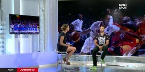 France Pierron dans Menu Sport - 16/09/14 - 12