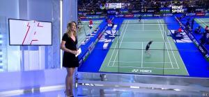 France Pierron dans Menu Sport - 21/10/14 - 09