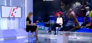 France Pierron dans Menu Sport - 21/10/14 - 10