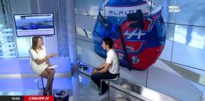 France Pierron dans Menu Sport - 24/10/14 - 09