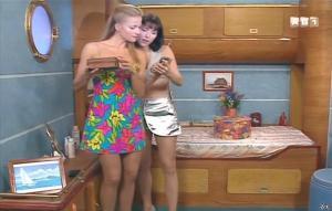 Isabelle Bouysses et Babsie Steger dans la Croisiere Foll Amour - 21/09/14 - 01