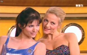 Isabelle Bouysses et Babsie Steger dans la Croisiere Foll Amour - 21/09/14 - 15
