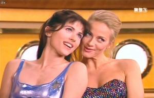 Isabelle Bouysses et Babsie Steger dans la Croisiere Foll Amour - 21/09/14 - 16