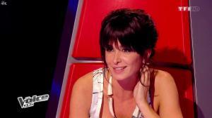 Jenifer Bartoli dans The Voice Kids - 06/09/14 - 02