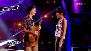 Jenifer Bartoli dans The Voice Kids - 30/08/14 - 12
