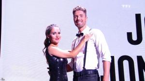 Joyce Jonathan dans Danse avec les Stars - 04/10/14 - 01