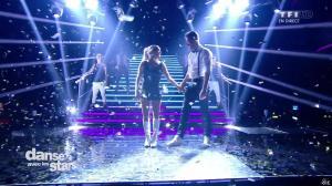 Joyce Jonathan dans Danse avec les Stars - 04/10/14 - 06