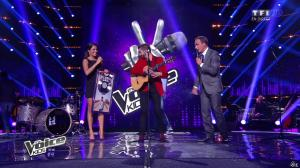 Karine Ferri dans The Voice Kids - 20/09/14 - 01
