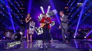 Karine Ferri dans The Voice Kids - 20/09/14 - 01