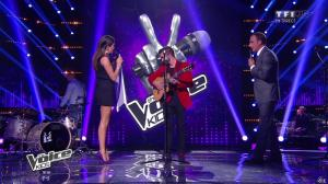 Karine Ferri dans The Voice Kids - 20/09/14 - 02