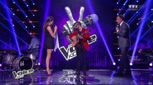 Karine Ferri dans The Voice Kids - 20/09/14 - 02