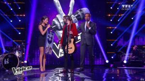 Karine Ferri dans The Voice Kids - 20/09/14 - 04