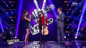Karine Ferri dans The Voice Kids - 20/09/14 - 05