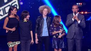 Karine Ferri dans The Voice Kids - 20/09/14 - 06