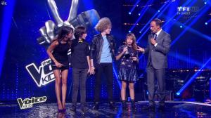 Karine Ferri dans The Voice Kids - 20/09/14 - 08