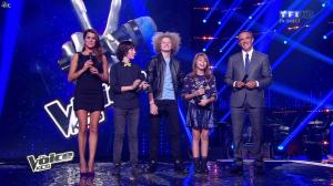 Karine Ferri dans The Voice Kids - 20/09/14 - 09