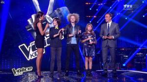 Karine Ferri dans The Voice Kids - 20/09/14 - 10