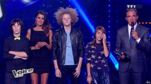Karine Ferri dans The Voice Kids - 20/09/14 - 11