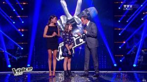 Karine Ferri dans The Voice Kids - 20/09/14 - 12