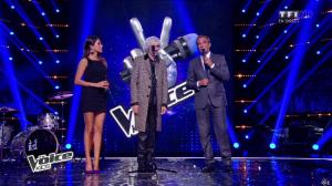 Karine Ferri dans The Voice Kids - 20/09/14 - 18