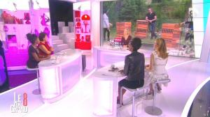 Laurence Ferrari, Audrey Pulvar, Hapsatou Sy et Elisabeth Bost dans le Grand 8 - 01/10/14 - 34