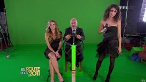 Marion Jollès et Clara Morgane dans En Route pour 2011 - 31/12/10 - 05