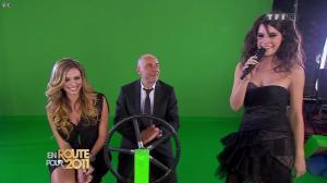 Marion Jollès et Clara Morgane dans En Route pour 2011 - 31/12/10 - 06