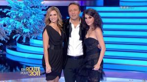 Marion Jollès et Clara Morgane dans En Route pour 2011 - 31/12/10 - 10