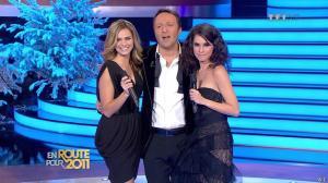 Marion Jollès et Clara Morgane dans En Route pour 2011 - 31/12/10 - 11