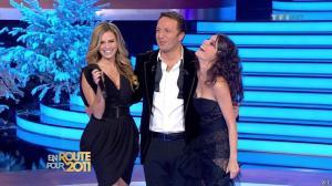Marion Jollès et Clara Morgane dans En Route pour 2011 - 31/12/10 - 12
