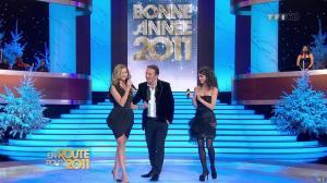 Marion Jollès et Clara Morgane dans En Route pour 2011 - 31/12/10 - 13