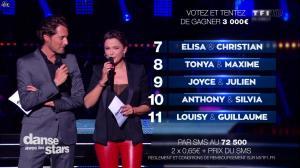 Sandrine Quétier dans Danse avec les Stars - 04/10/14 - 13