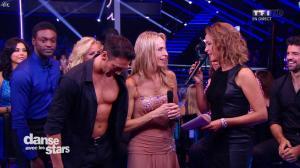 Sandrine Quétier dans Danse avec les Stars - 27/09/14 - 09