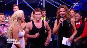 Sandrine Quétier dans Danse avec les Stars - 27/09/14 - 14
