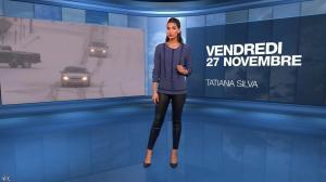 Tatiana Silva à la Météo de 20h - 27/11/15 - 01