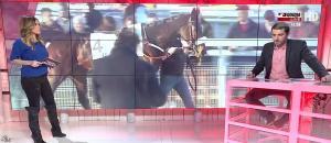 Amélie Bitoun dans un Jour aux Courses - 06/12/16 - 11