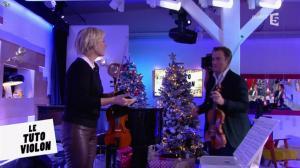 Anne-Elisabeth Lemoine dans C à Vous - 14/12/16 - 04