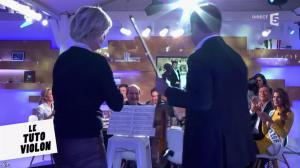 Anne-Elisabeth Lemoine dans C à Vous - 14/12/16 - 06