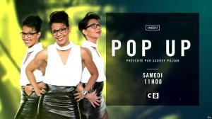 Audrey Pulvar dans Bande Annonce de Popup - 02/12/16 - 02