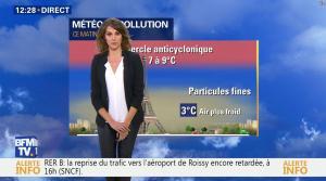 Fanny Agostini à la Météo de BFM TV - 07/12/16 - 02