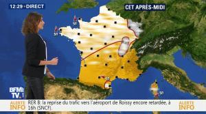 Fanny Agostini à la Météo de BFM TV - 07/12/16 - 03