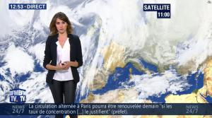 Fanny Agostini à la Météo de BFM TV - 07/12/16 - 06