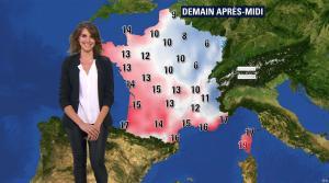 Fanny Agostini à la Météo de BFM TV - 07/12/16 - 10