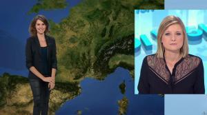 Fanny Agostini à la Météo de BFM TV - 13/12/16 - 01