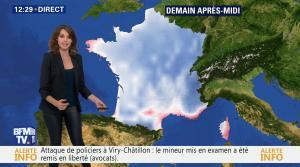 Fanny Agostini à la Météo de BFM TV - 13/12/16 - 03